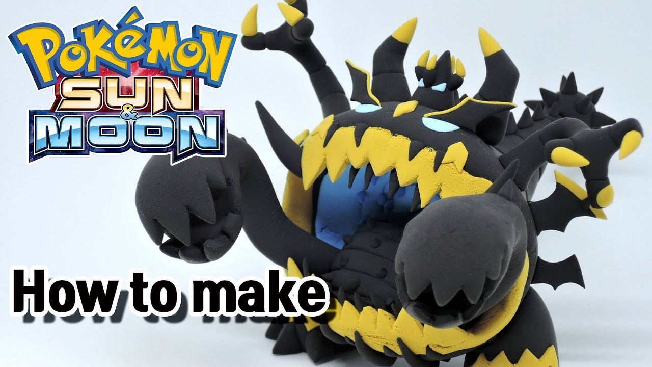 Quatang Gallery- How To Sculpt Ultra Beast Guzzlord Pokemon Sun Moon Pokemon Craft Pokemon Clay Creations