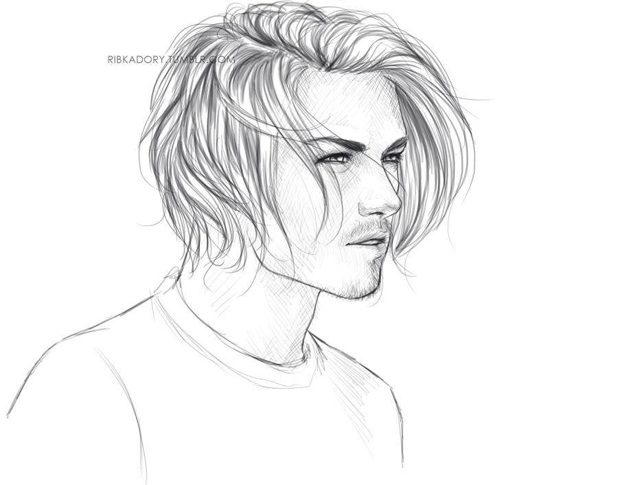 Pin De Samara Pena Em Drawing Desenhos De Homens Desenhos De