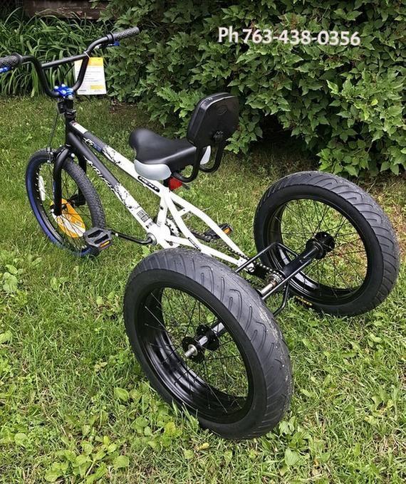 3 Three Wheel Bicycle Axle Conversion Kit Trike bicycle