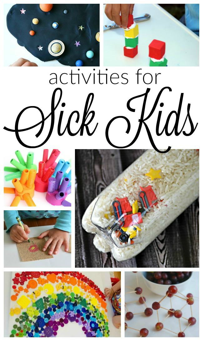 Activities for Kids at Home Sick | Printable activities ...