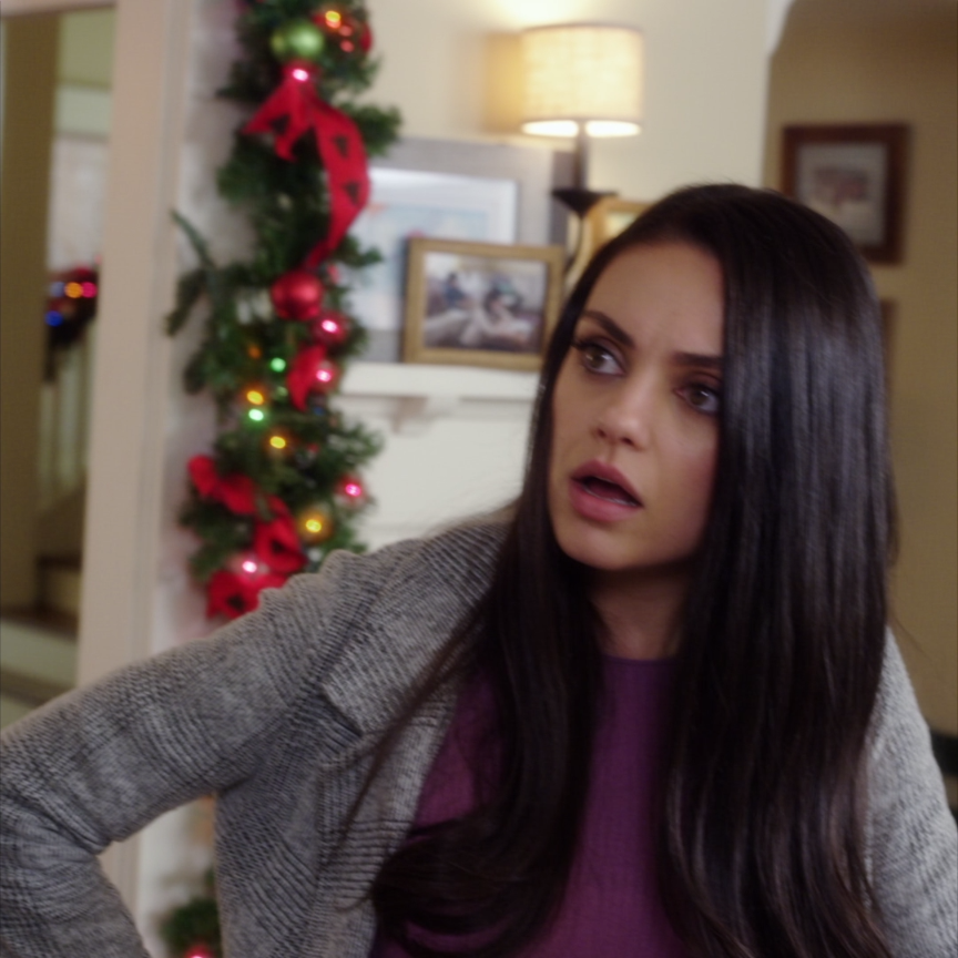 Bad Mom Christmas.Behind Every Bad Mom Is An Even Badder Mother Mila Kunis