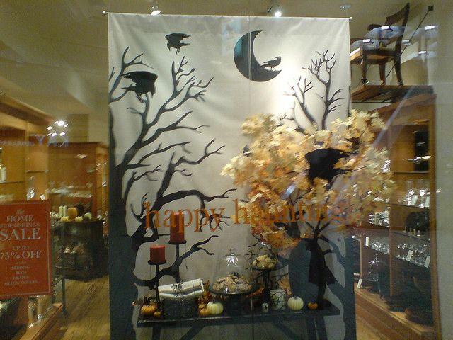 Halloween Store Front Display 2 Halloween Store Display Halloween Window Display Autumn Window Display