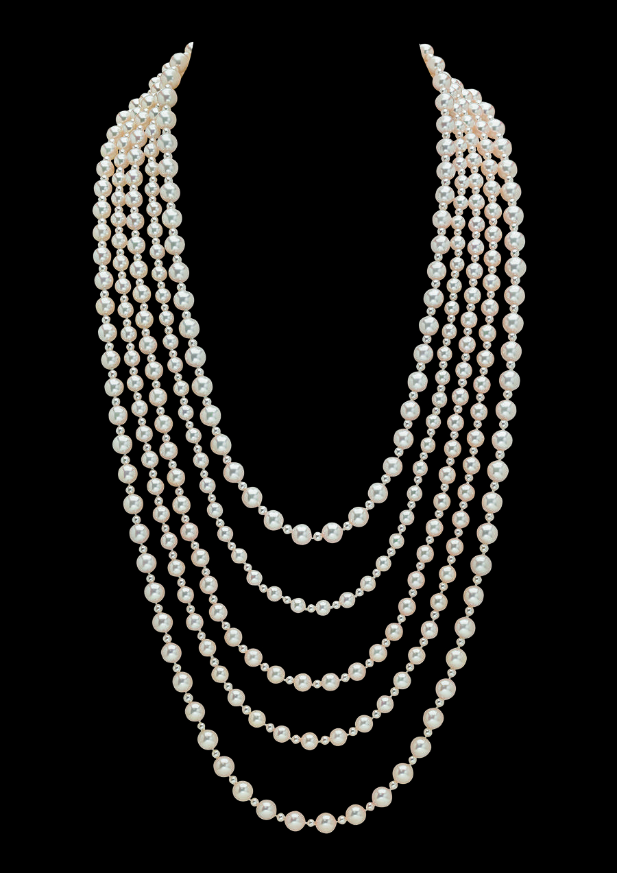 Chanel Pearl Necklace  Worn By Keira Knightley, As Anna Karenina