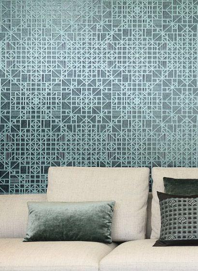 Geometrische Tapete Window von Arte 2858 - arte m badezimmer