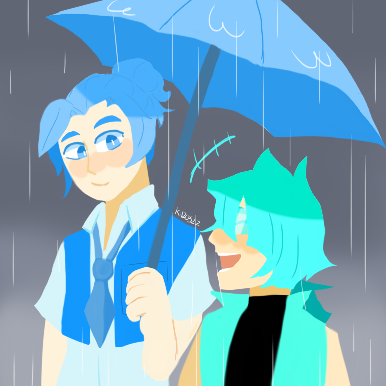 Human Heli and Cyan Square (With images) Rain meme, Fan