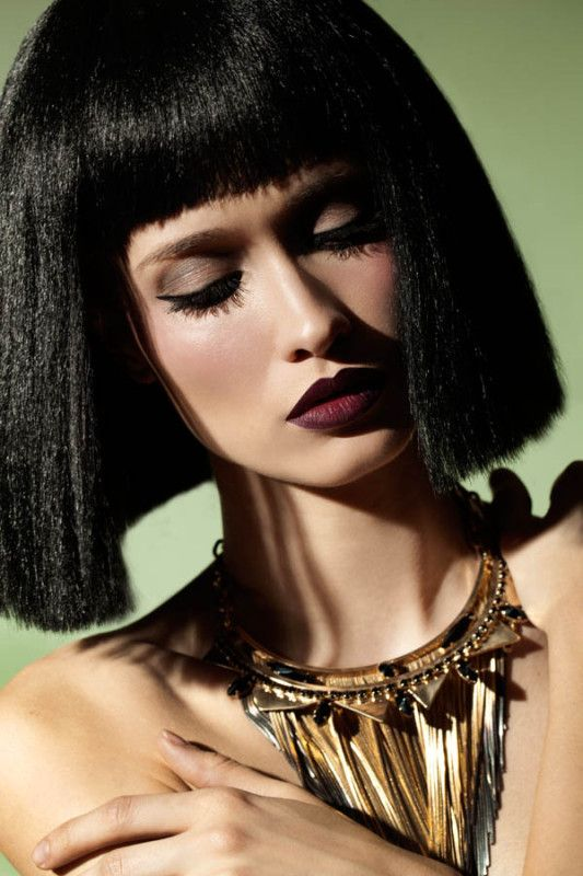 Necklace By Iosselliani Egyptian Hairstyles Cleopatra Hair Egyptian Fashion