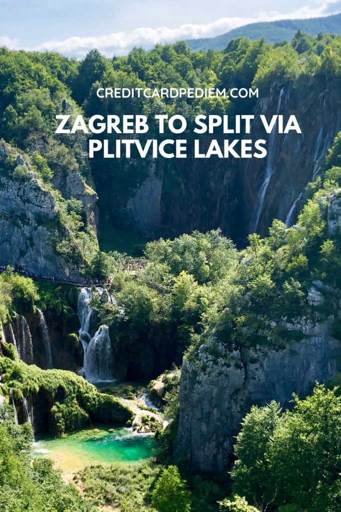 Zagreb To Split Via Plitvice Lakes Cardpe Diem In 2020 Plitvice Lakes Plitvice Lakes National Park Croatia Vacation