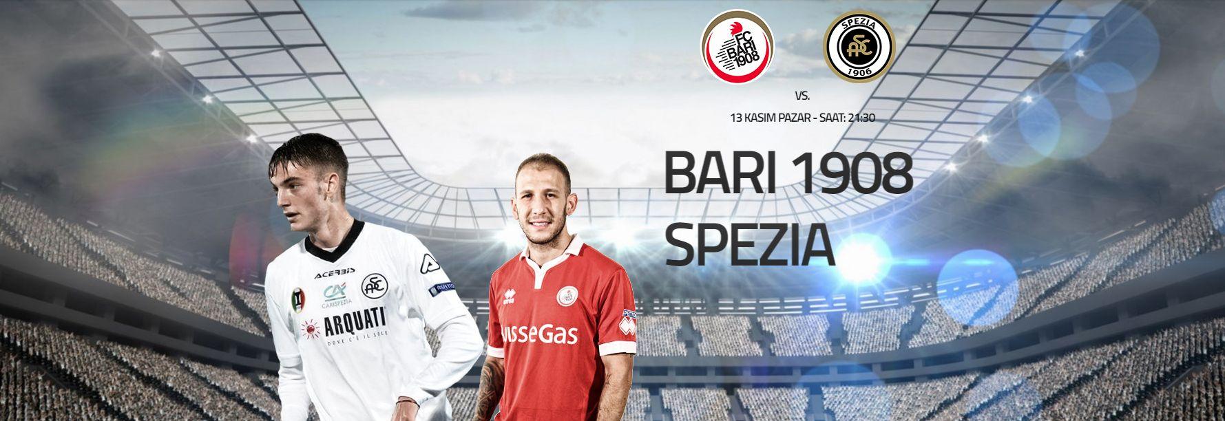 FC Bari 1908 – Spezia  İtalya Seri B'de üst lige çıkabilmek için kıyasıya mücadele veren Bari evinde aynı puana sahip Spezia'yı konuk ediyor. Alınabilecek üç puanın iki takım içinde önemli oluşu maçı daha zor bir hale getiriyor. Bahis serverler için Enyüksekbahisoranları ve Canlıbahis seçeneklerimiz Betend'de.  FC Bari 1908 (2,02) – Beraberlik (3,13) – Spezia (3,73)  Bugün:22.30 http://betend40.com