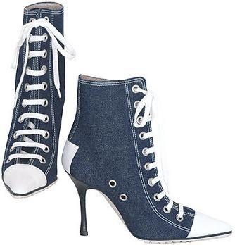 converse all star high heels