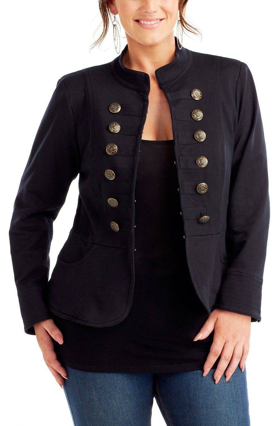 c3cfa8a2638 Jackets - Jackets - Plus Size   Larger Sizes Womens Clothing at Dream Diva
