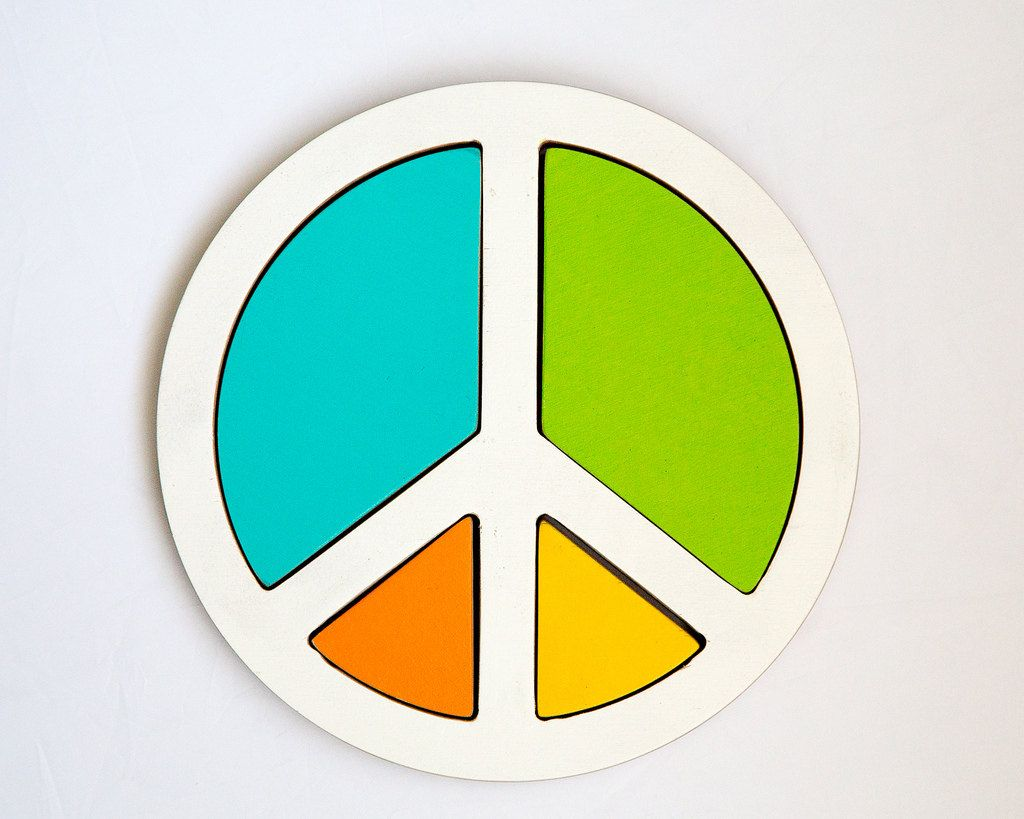Puzzle Peace for your creative child. €19.00, via Etsy.