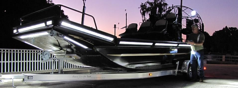 New Airboats for Sale, Airboat Kits & Parts – Floral City Airboat Company | Really Neat American ...