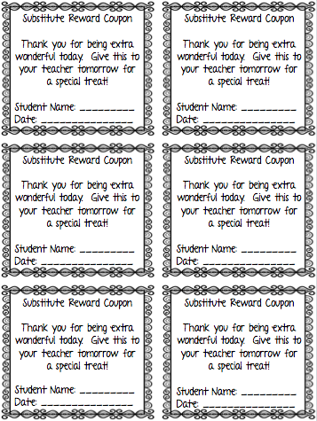 I Love My Classroom Sub Plan Templates  Making Writing Sub