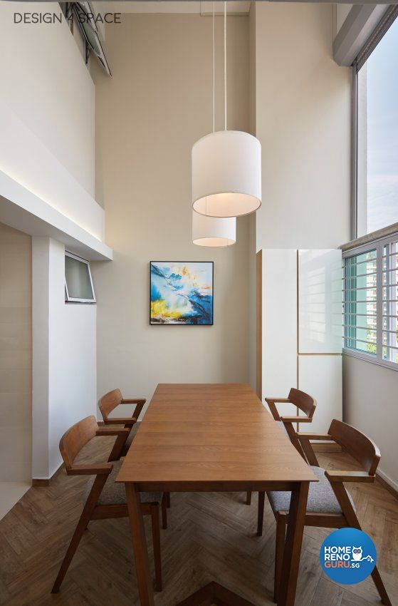 Contemporary design dining room hdb executive apartment by space pte ltd also singapore interior gallery details decor ideas rh pinterest