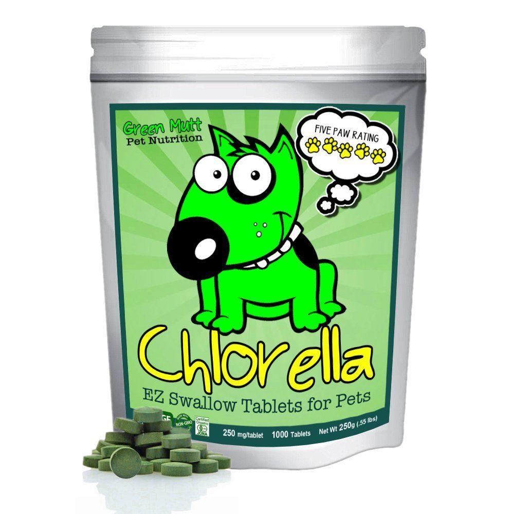 Organic Chlorella Raw Dog Food Whole Food Topper And Natural Pet