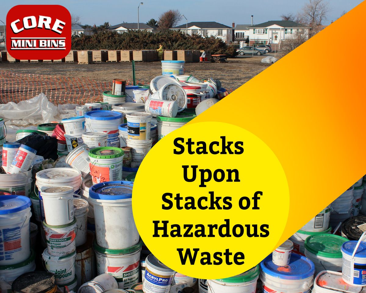 Every household generates hazardous waste. These items are