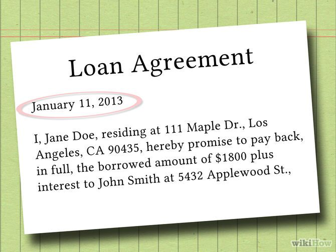 How to Write a Legal Document for Money Owed (with Examples) - i ...