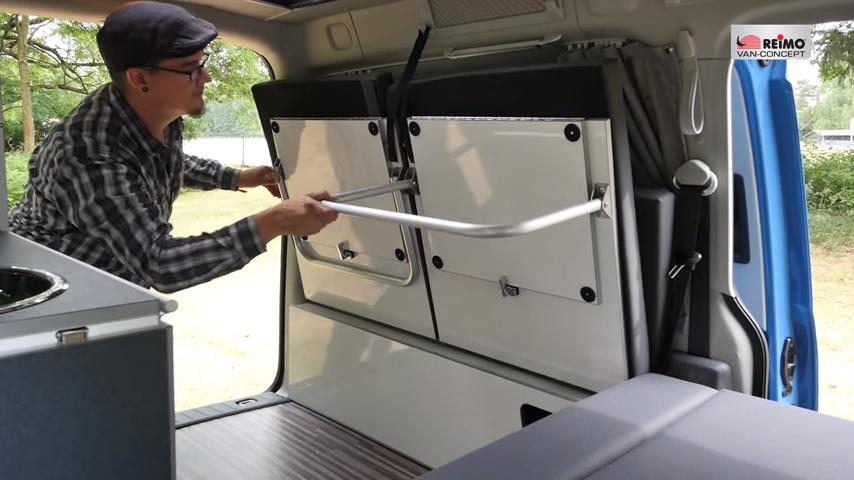 reimo mini camper caddy maxi mini campervan ideas mini. Black Bedroom Furniture Sets. Home Design Ideas