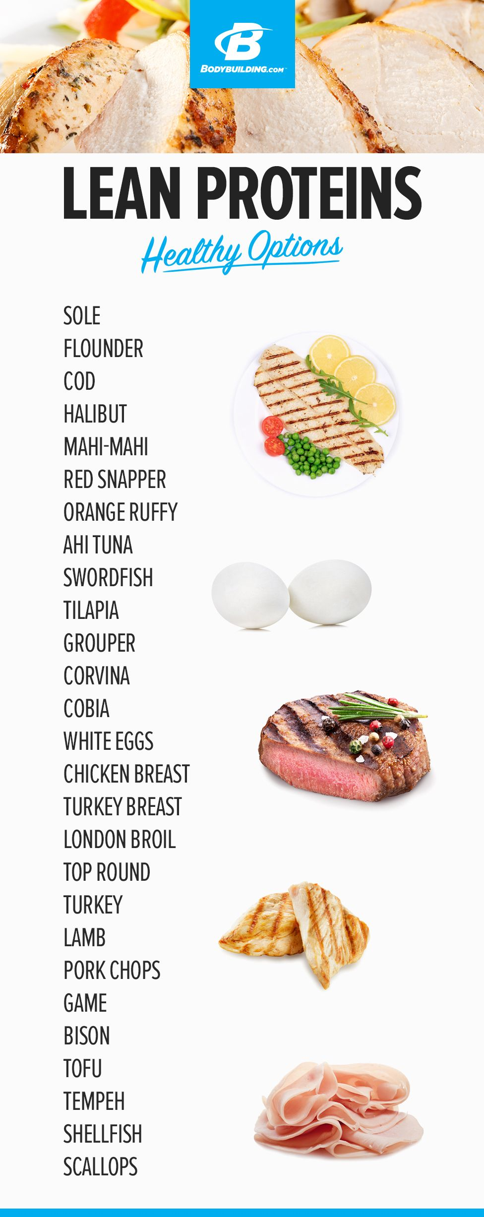 diet of all lean protein