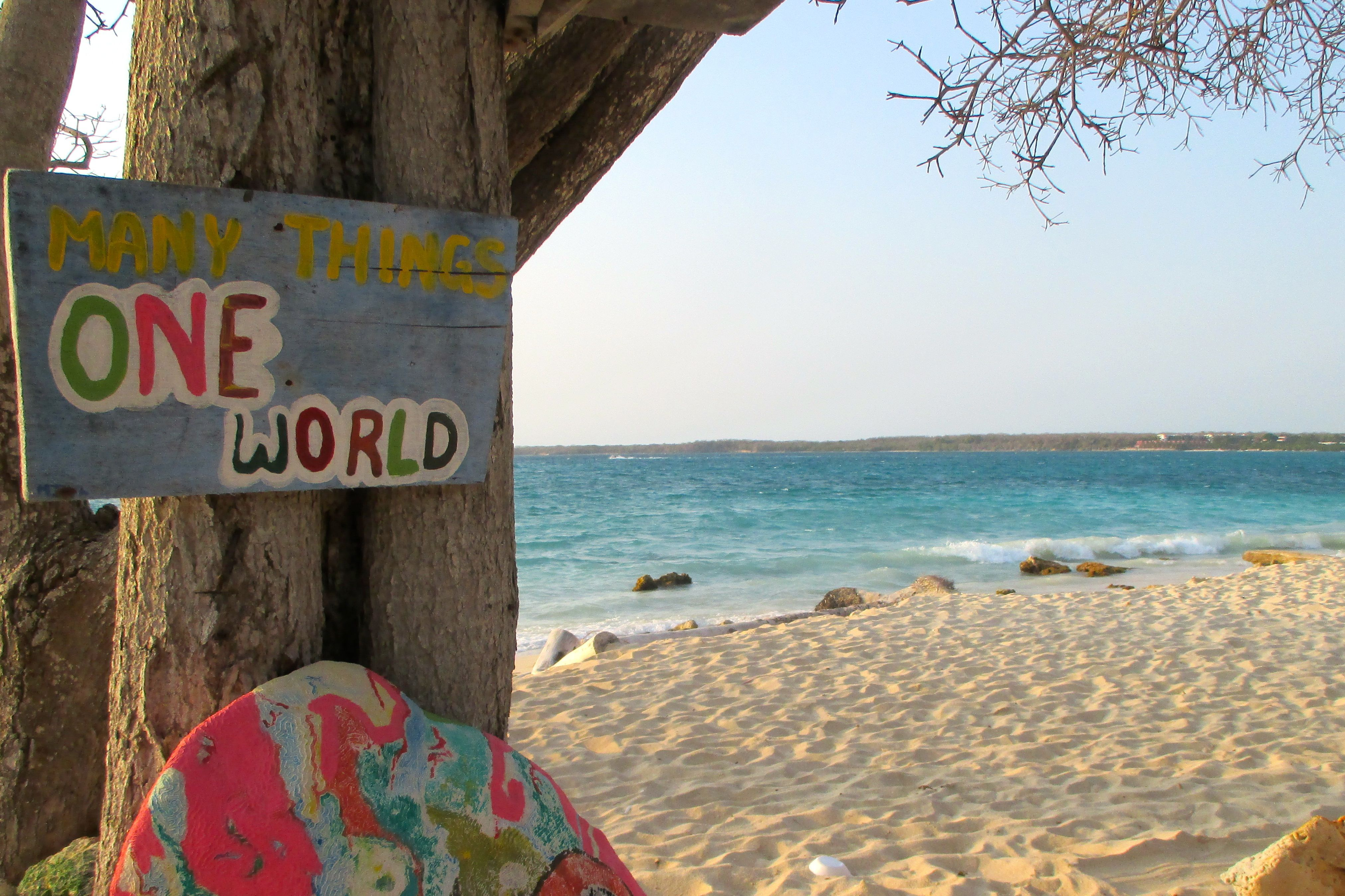 Beautiful Playa Blanca In Isla Bar Boliv R Colombia Near  # Muebles Momposinos