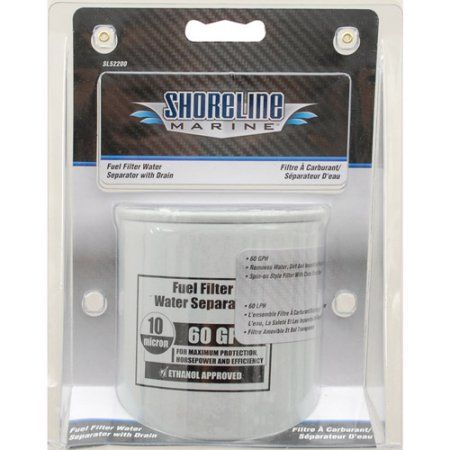 Shoreline Fuel Filter, Multicolor