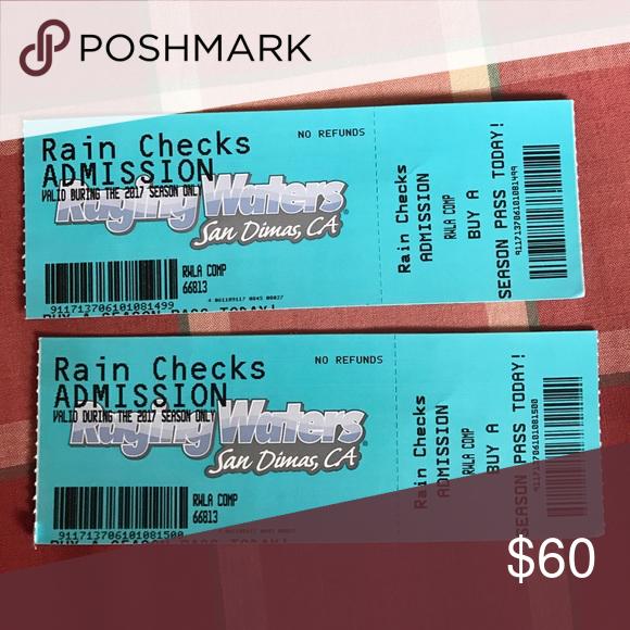 2 Raging Waters San Dimas Ca Tickets San San Dimas Rage