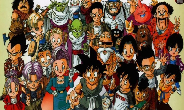 The Full Dragon Ball Gt Cast Dragon Ball Wallpapers Dragon Ball Dragon Ball Art