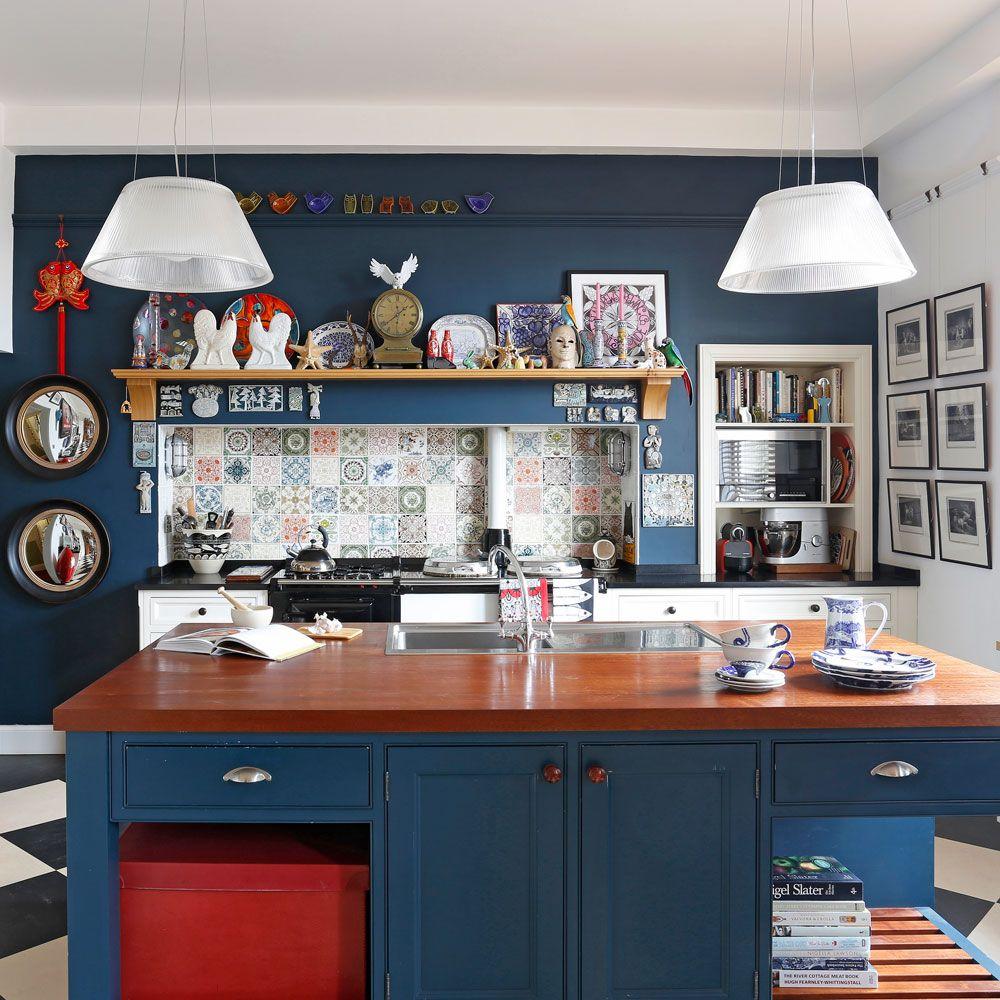 navy kitchen ideas navy blue kitchens that look cool and stylish navy blue kitchen on kitchen decor navy id=40764