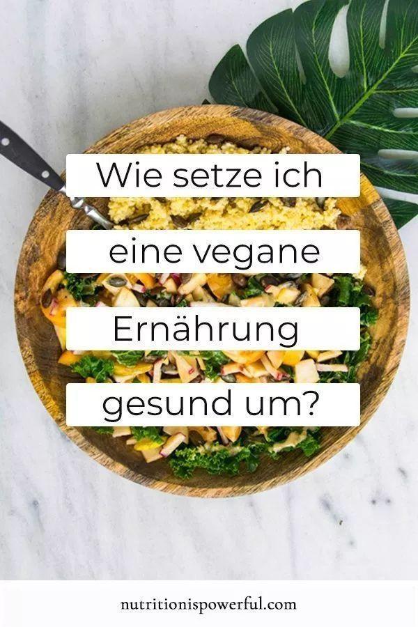 Photo of Wie setze ich eine vegane Ernährung gesund um? – Nutrition is Powerful
