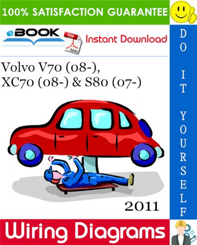 2011 Volvo V70 08 Xc70 08 S80 07 Wiring Diagram Repair Manuals Nissan Skyline Repair