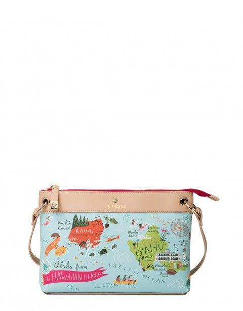 Spartina 449 Hawaiian Islands Crossbody Handbags Hawaii