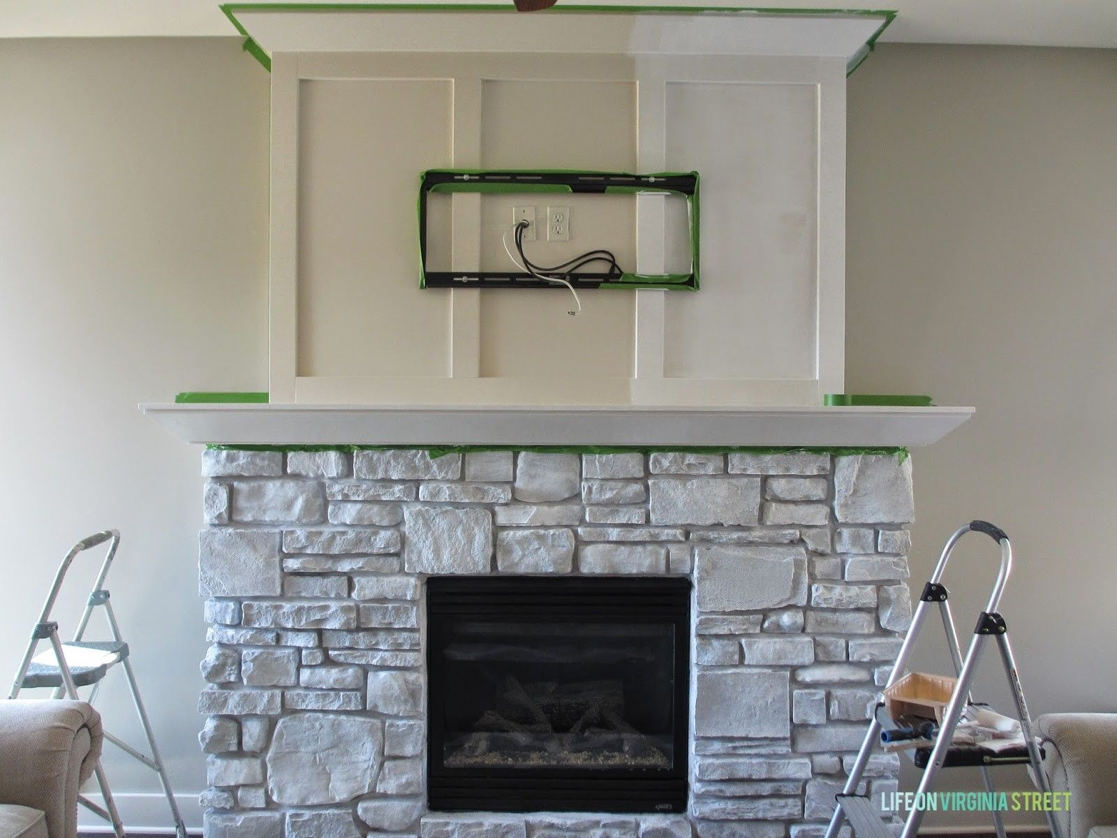 Pin by Audra Paulette Dice on Fireplaces Whitewash stone