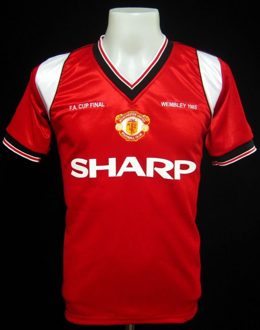 059107026b5 Manchester United 1985 FA Cup Final Shirt