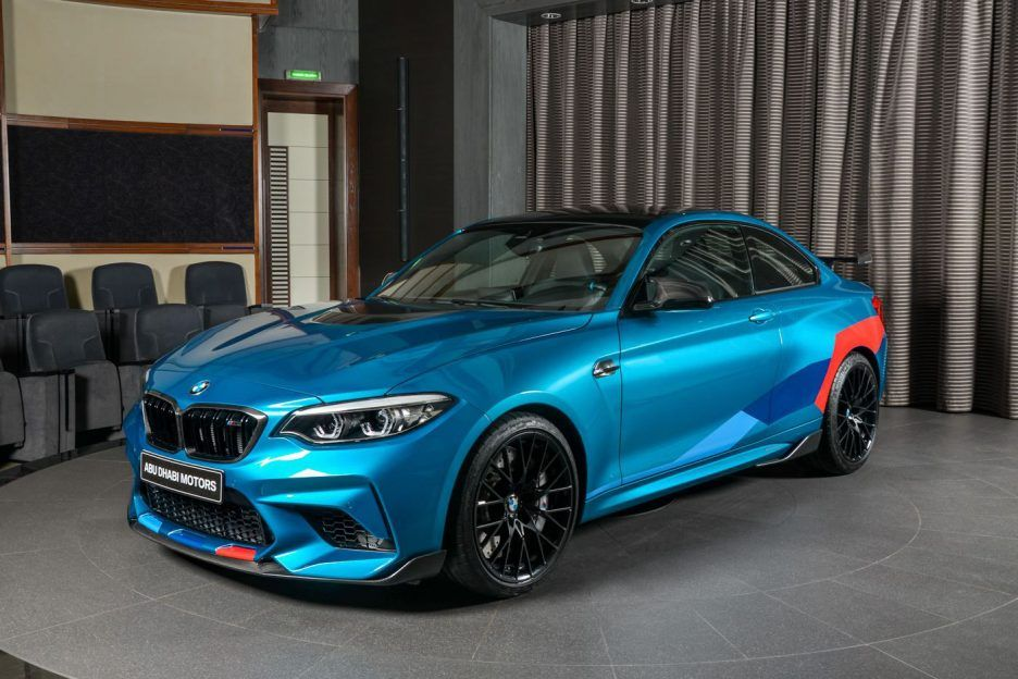 2019 Bmw Abu Dhabi Motors M2 Competition Front Exterior Angle View