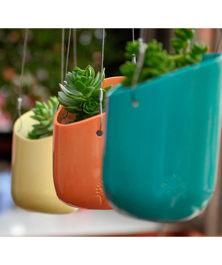 Vento - Materas colgantes. $83.000 COP. Cómpralo aquí--> https://www.dekosas.com/productos/hogar-decoracion-dekosas-verde-menta-planta-vento-detalle