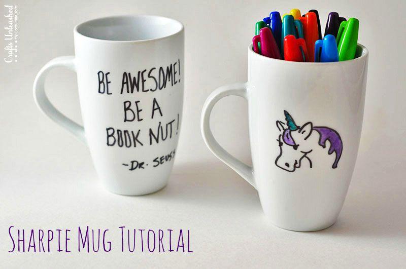 Sharpie Mug Tutorial A Fun Personalized Gift Diy