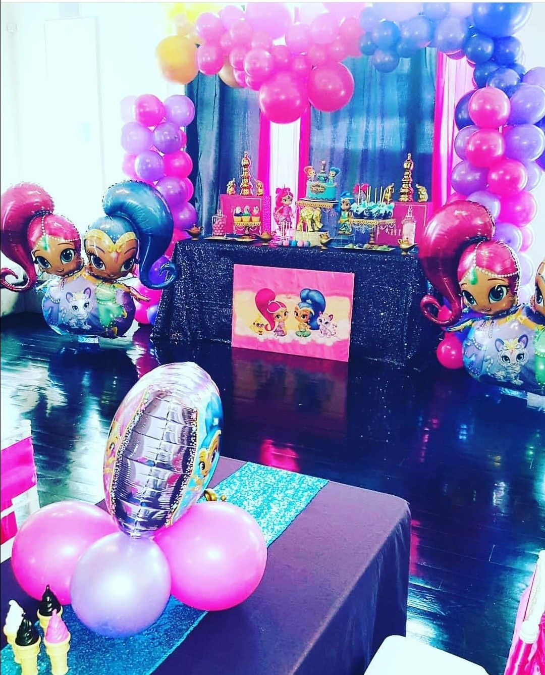 Pin On Shimmer And Shine Birthday Party