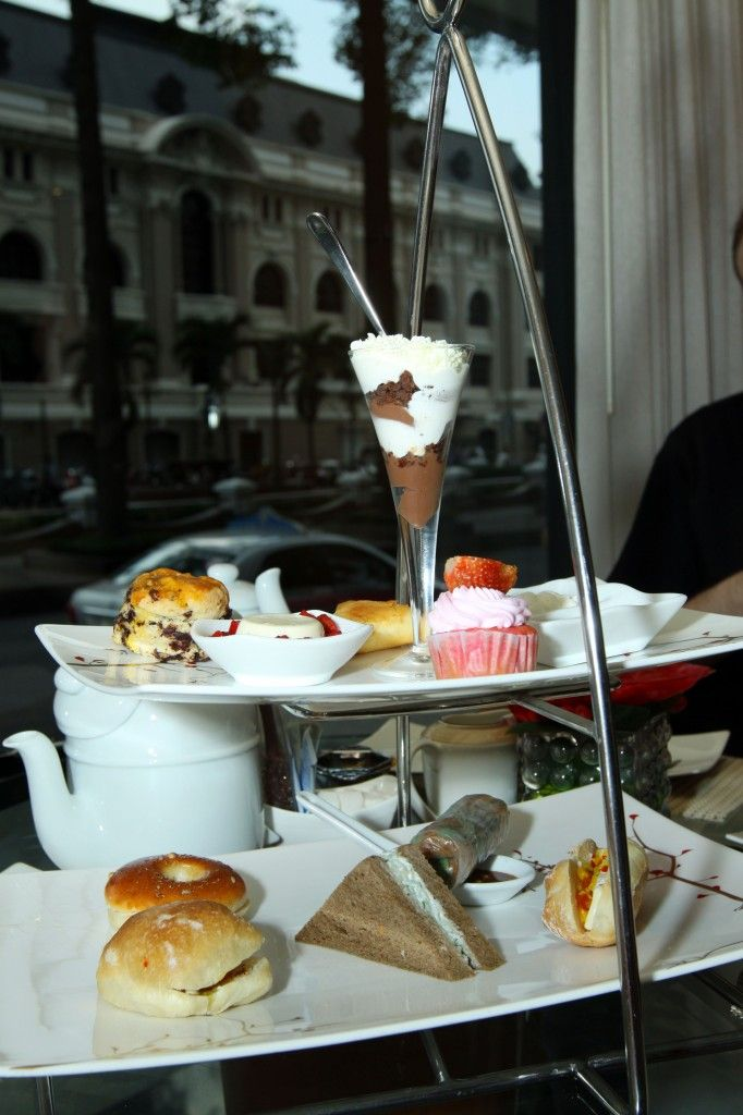 Afternoon Tea In Ho Chi Minh City Taking A Break At The Caravelle