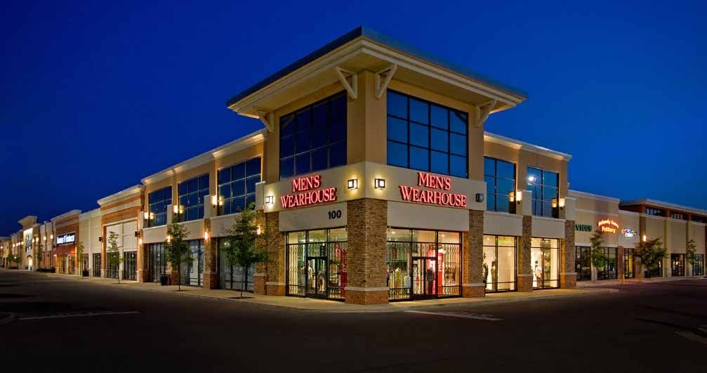 Retail shopping center google search retail exterior for Exterior standalone retail