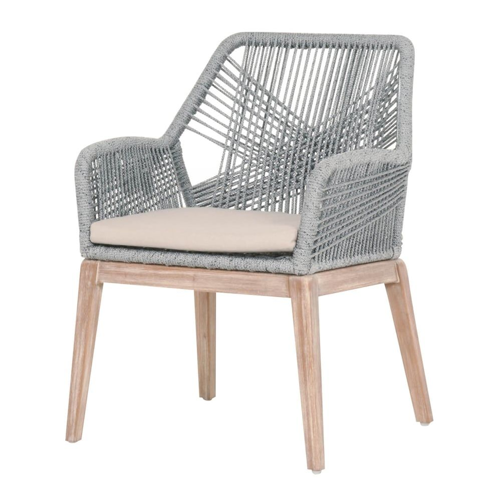 product wicker outdoor casual of set room loom arm gray furniture chair orient dining zm express smoke
