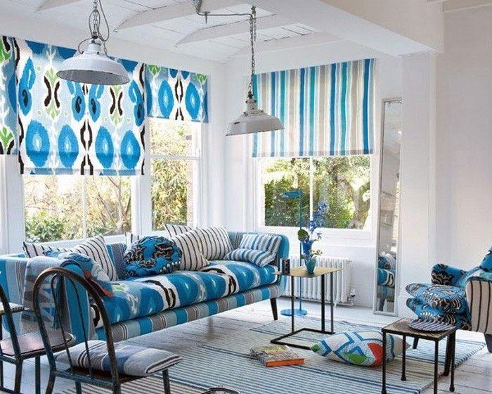 Wohnzimmer Farblich Gestalten Blau Eine Wunderschöne Entscheidung