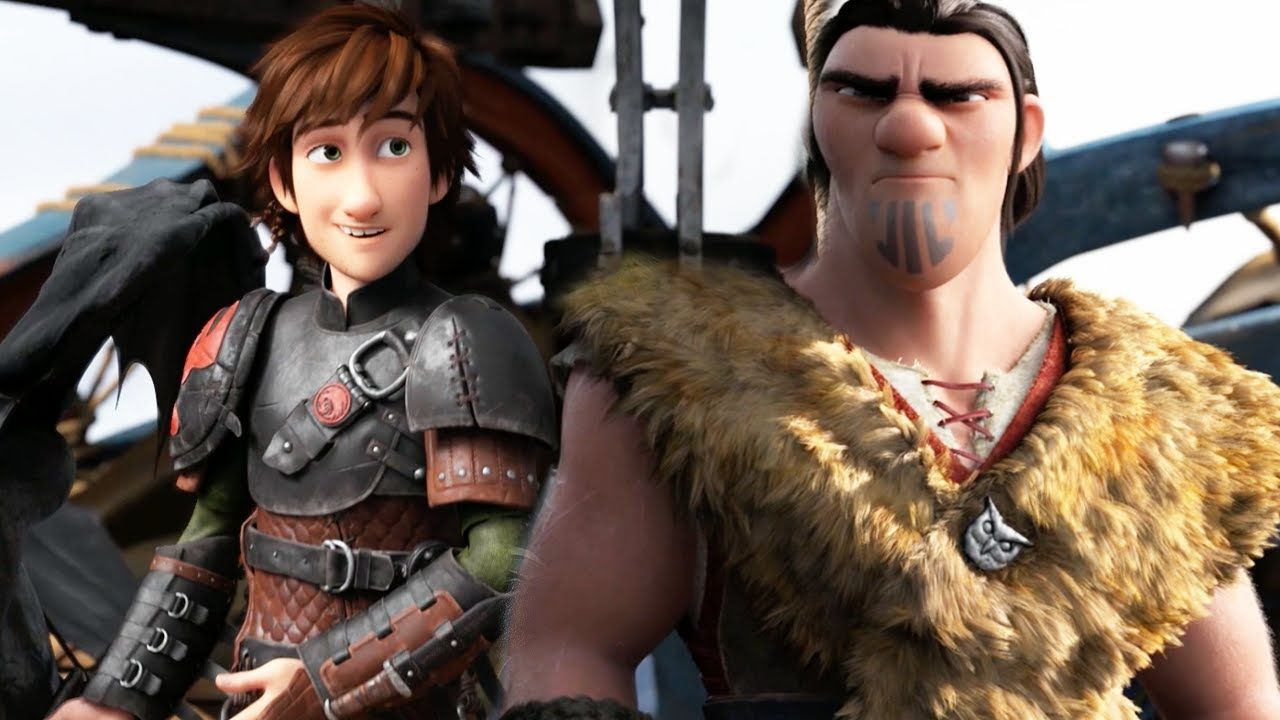 How to Train Your Dragon 2 - Son of Eret (Official Clip) lol Ruffnut<---- I love how Eret seems to be playing fetch with Stormfly.<-- Yeah me too.  But I'm not too big on how they have Ruffnut react to Eret... Oops! Almost forgot! You can't have armed prisoners!