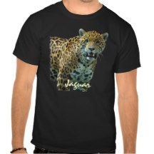 Wild Spotted Jaguar Big Cat Wildlife T-Shirt
