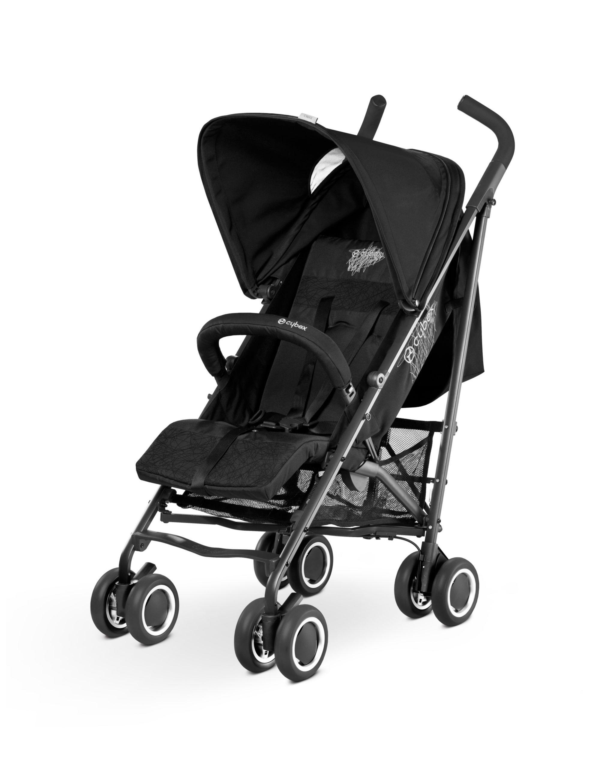 Cybex Onyx Stroller Black buggies & strollers