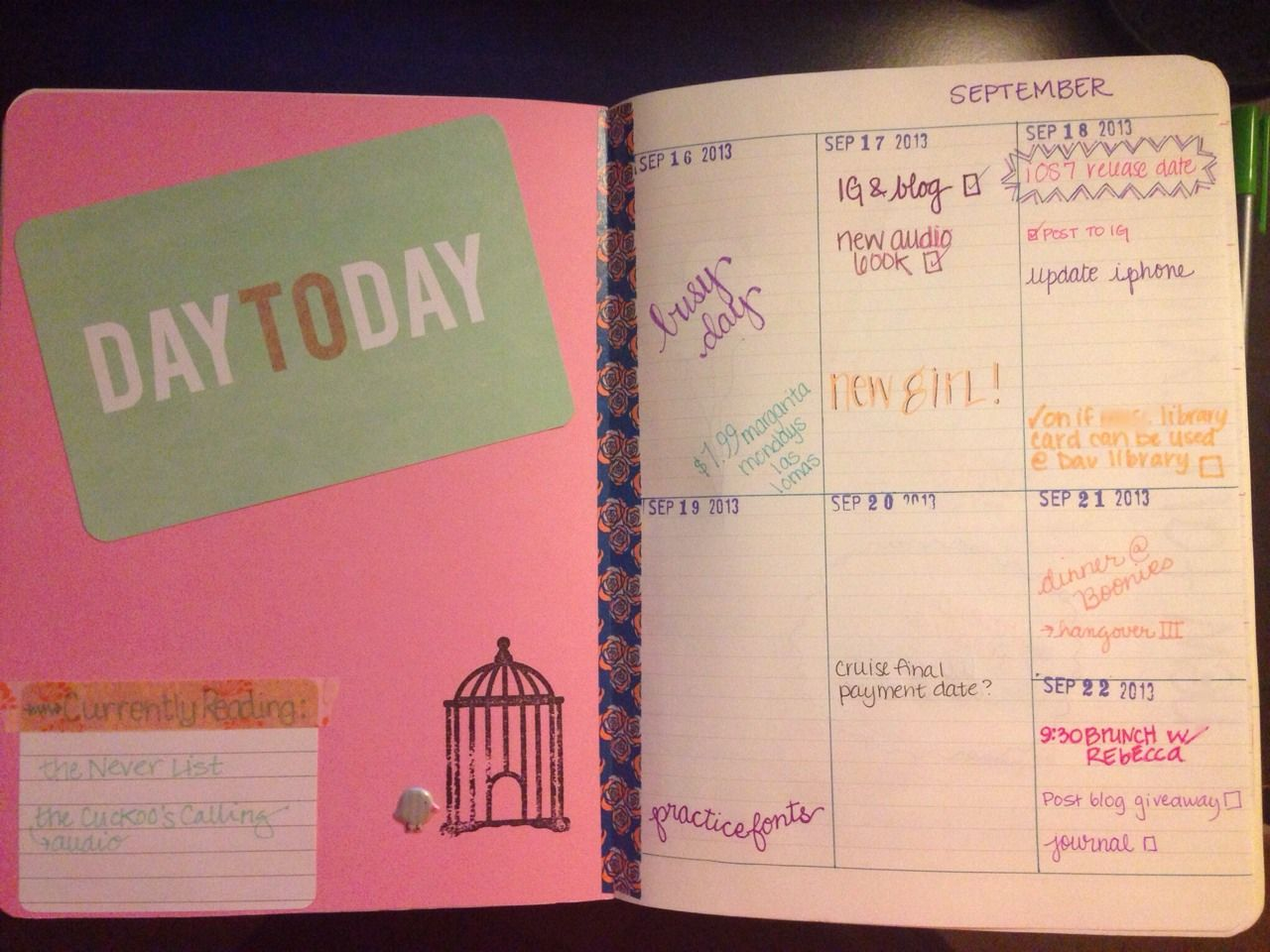 The Organized College Student Diy Planner Love This Going To Happen Next Semester College Organization Diy Planner College Survival