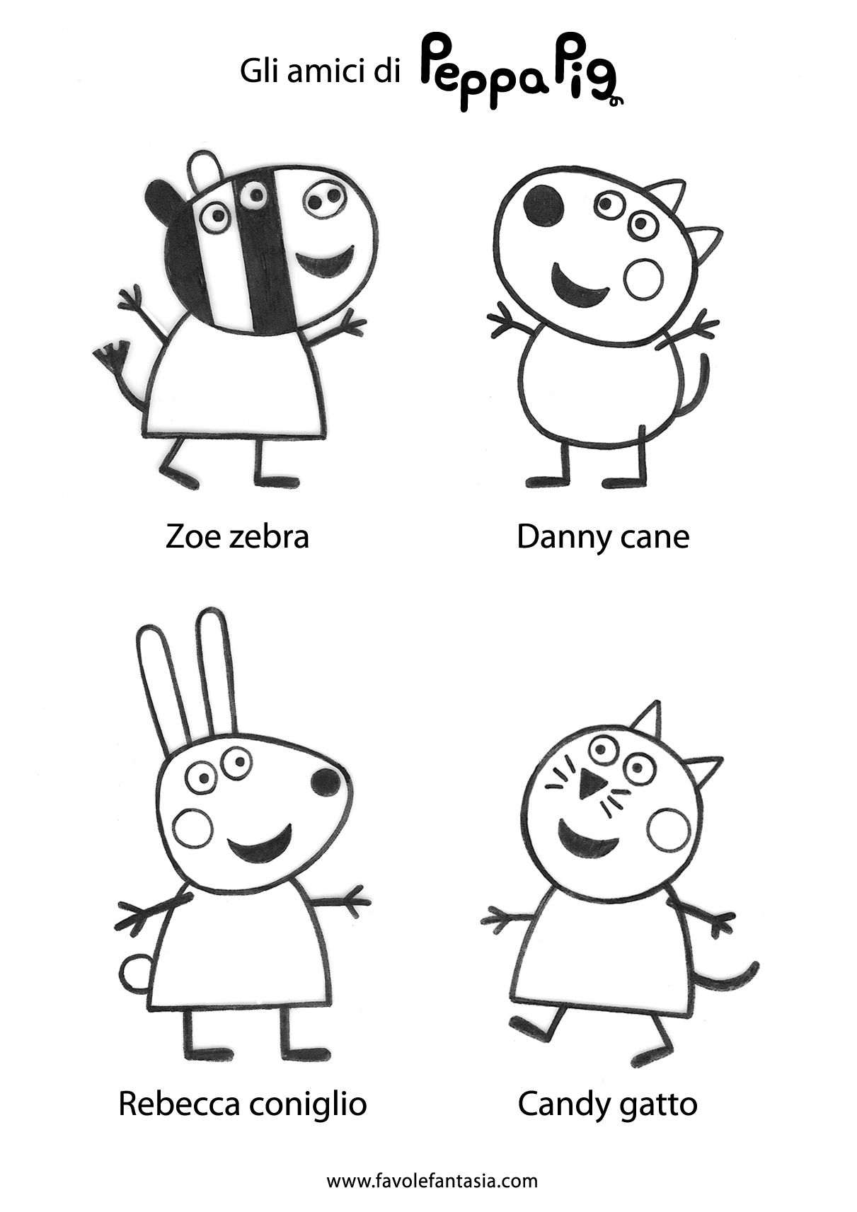 peppa pig coloring pages birthday balloon | Pin by Manju Anish on Wonderland alice | Peppa pig ...