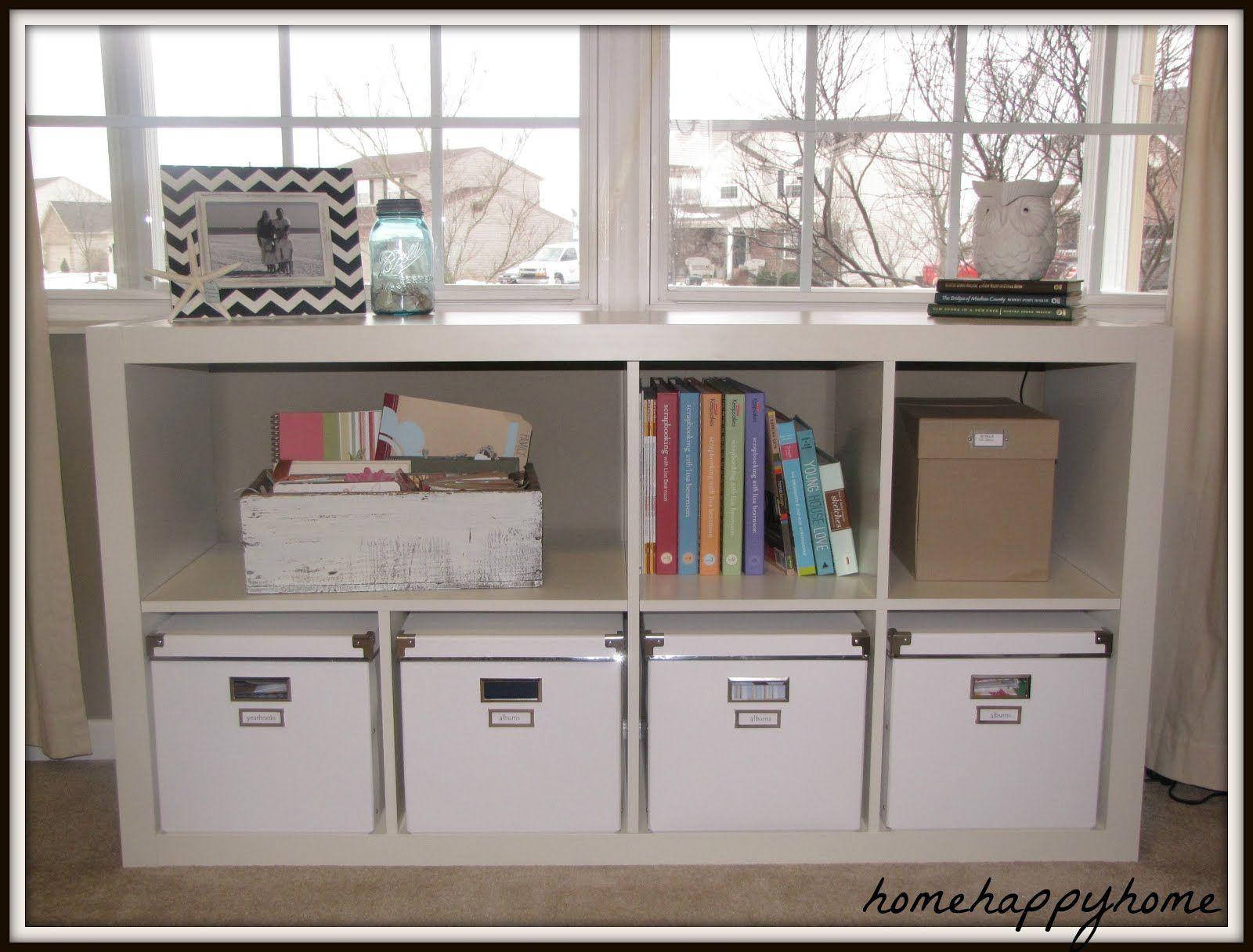 My New Craft Room Craft Room Kallax Ikea Bookcase