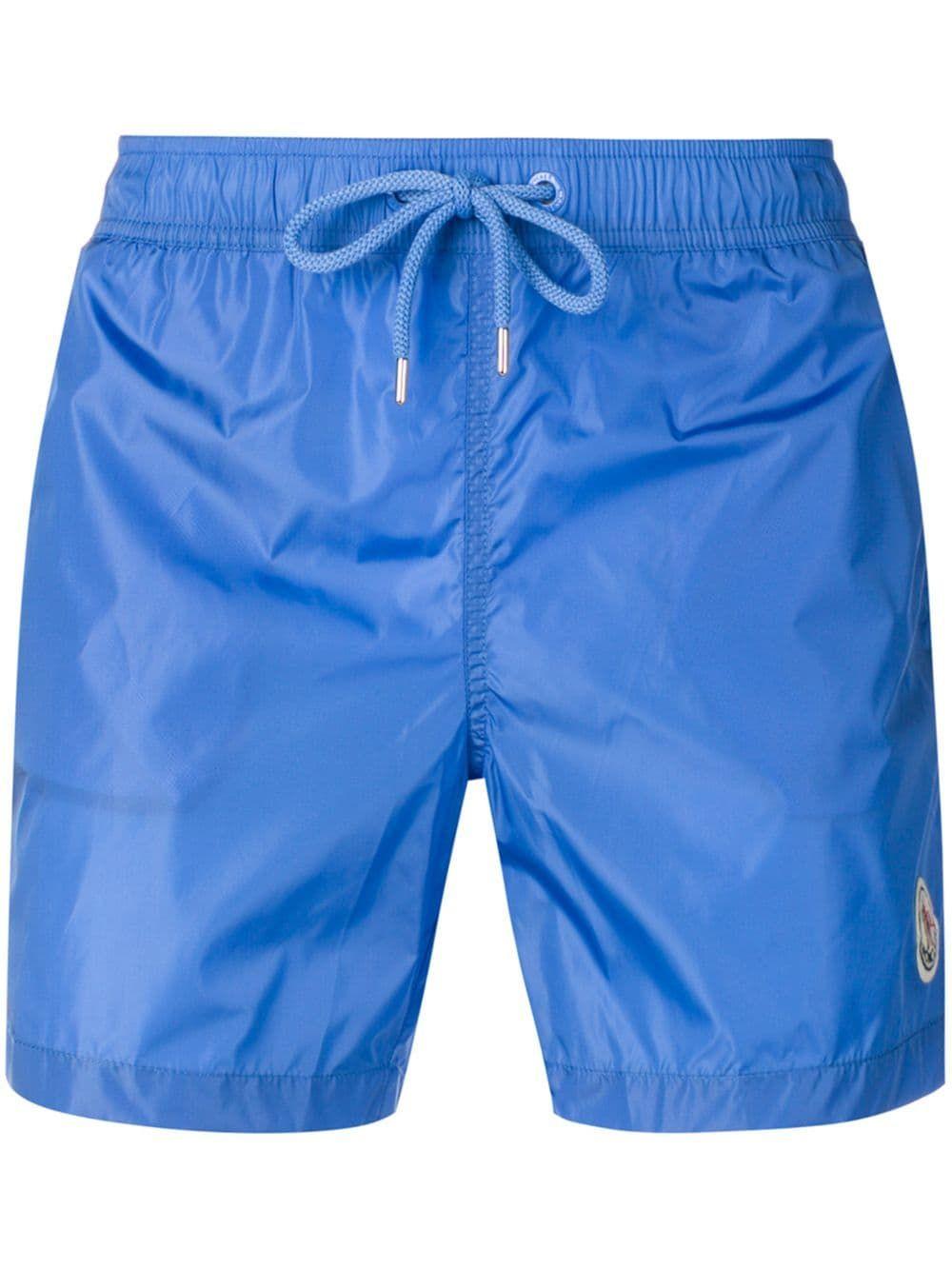 f32b2afa25 MONCLER MONCLER SIDE LOGO SWIM SHORTS - BLUE. #moncler #cloth ...
