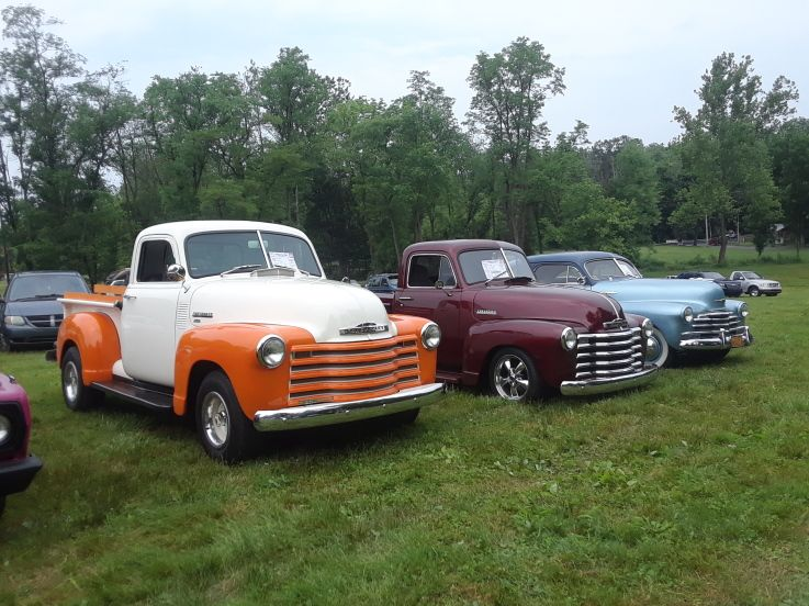 Gettysburg Region Aaca Auto Truck Show Chevy Trucks And Car