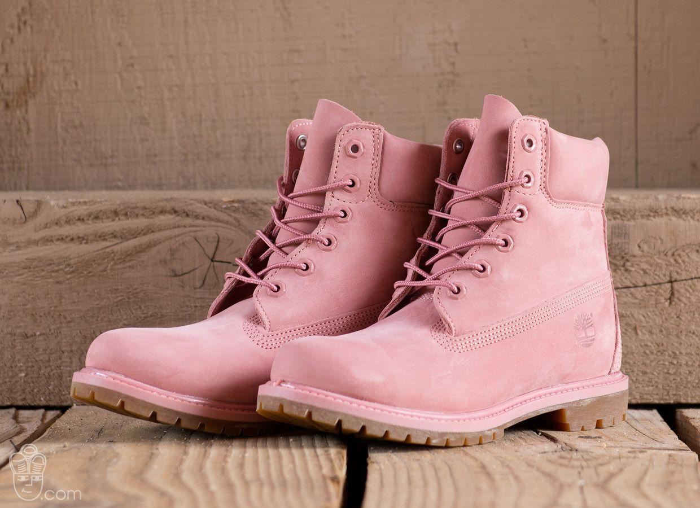 6 inch Premium Boots Rose